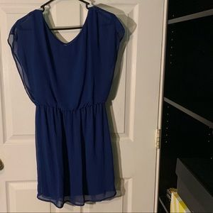 Lush Summer dress in blue color